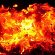 Incandescent embers — Stock Photo #12739567