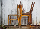 Old chairs — Stock Photo