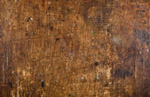 Grunge old scratched wood background — Stock Photo