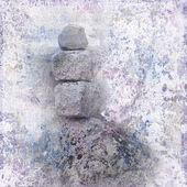 Zen meditation background — Stock Photo