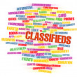 Classifieds — Stock Photo