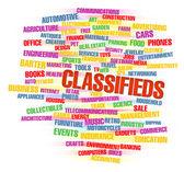 Classifieds — Stock Photo