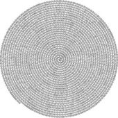 Zeroes and ones - binary computer code in a spiral isolated — Stock Vector