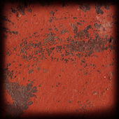 Red rusty metal surface — Stock Photo