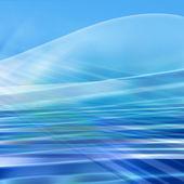 Blå abstrakt bakgrund — Stockfoto