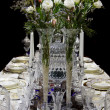 Stock Photo: Beautiful porcelain centerpiece