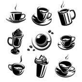 Coffee set — Wektor stockowy