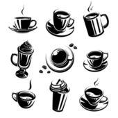 Coffee set — Wektor stockowy