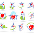 Collection medical icons — Stock Vector