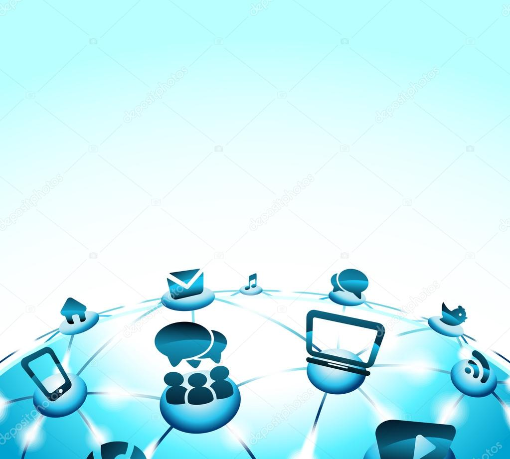 Background Images For Social Networking Site Social Network Background of