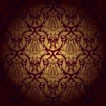 Seamless wallpaper pattern. Vector — Stock Vector
