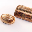 Handmade  ivory boxes from North Africa — Stock Photo