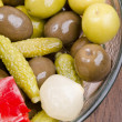 Stock Photo: Pickled snacks
