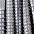 Hardware screw texture — Stock Photo