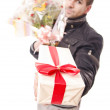 Take a gift - Stock Photo
