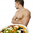 Rejected Pizza — Stock Photo