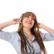 Royalty-Free Stock Photo: Enjoy the music!