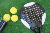 Paddle tennis — Stock Photo