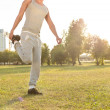 Jogging in park — Stock Photo #35189823