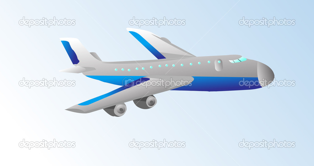 Airplane — Stock Vector #12742779