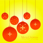 Christmas globe — Stock Vector