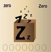 """Anglais lettre z"""" — Vecteur"""