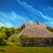 Old sailor cottage - Stock Photo