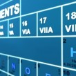 Periodic table of the elements — Stockvideo