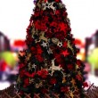 Christmas Tree and in shopping mall — Stock Video #23677271