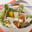 Stock Photo: Tofu salad.