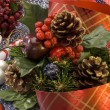 Stock Photo: Christmas arrangement.