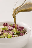 Vinaigrette dressing. — Stock Photo