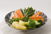 Steamed vegetables. — Stock Photo