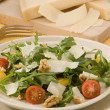 Rocket and parmesan salad. — Stock Photo
