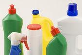 домашние чистящие средства. — Стоковое фото