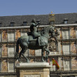 Plaza Mayor Square. Madrid. Spain. — Stock Photo