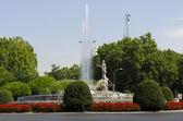 Neptuno Fountain. Madrid. Spain. — Stock Photo