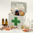 Open first aid kit — Stock Photo #22055143