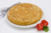 Spanish Cuisine. Morcilla de Burgos. Black Pudding. — Stock Photo