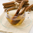 Cinnamon Herbal Tea — Stock Photo