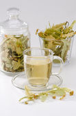 Lime Tree Herbal Tea — Stockfoto