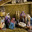 Christmas Nativy Scene — Stock Photo