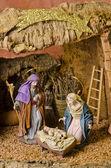 Nativy scène de Noël — Photo
