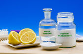 Organic cleaners — Stockfoto