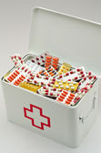 First aid box — Stock Photo