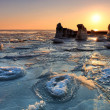 Stock Photo: Frozen sea