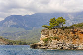 Seaside in Kemer, Turkey — Stock Photo