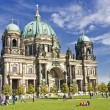 Berlin Catherdral on a beautiful sunny day — Stock Photo