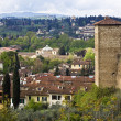 Florence view from the Boboli Gardens — Stock Photo