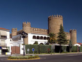 Castillo -parador de turismo de Zafra — Stock Photo